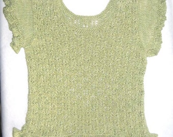 Moth Top - KNITTING PATTERN - pdf file by automatic download