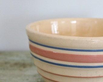 Vintage stoneware fruit  bowl