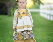 Sweet Vintage...A Little Birdie Told Me... Apron Knot Dress  LAST ONE....