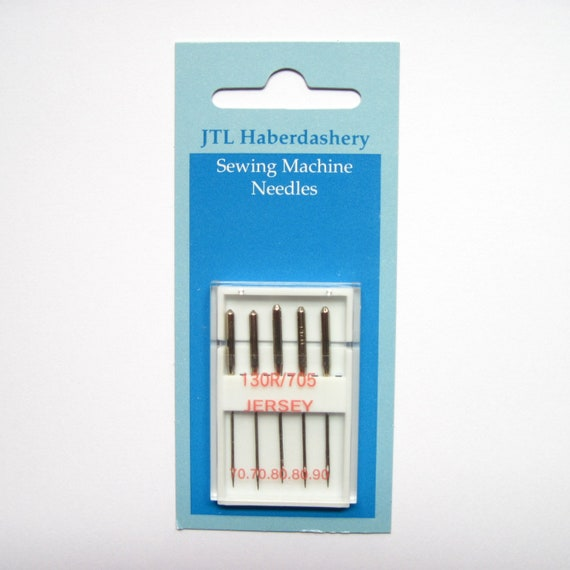 Jersey/ ball point sewing machine needles, assorted sizes