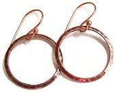 SPECIAL Copper Hoop Earrings