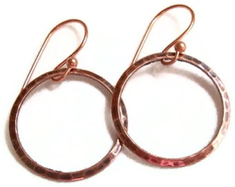 SPECIAL Copper Hoop Earrings