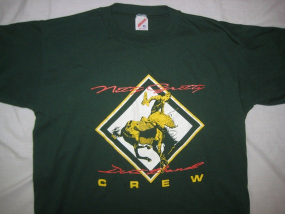 Late 1980's NItty Gritty Dirt Band crew t-shirt, XL
