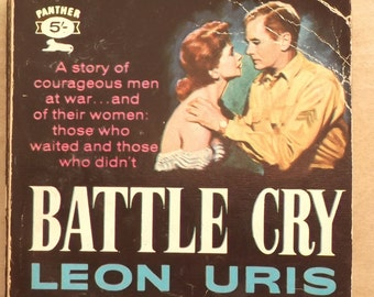 1960s paperback fiction by Leon Uris Battle Cry
