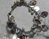 japanese theme dangle charm bracelet
