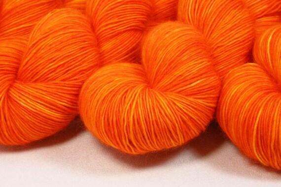 "Astral Merino Light ""Icarus"" 1ply Fingering 100% Superwash Merino Hand Dyed Sock Yarn 450yds"