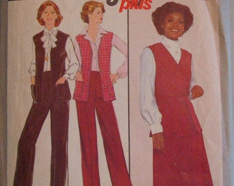 OOP Simplicity Womens Sewing Pattern 8314 Size 14  Uncut