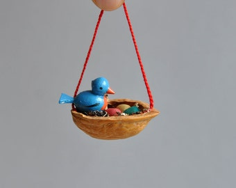 Teeny Tiny Bird Ornament - Italy - Choice