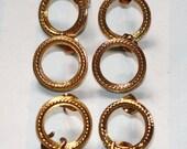 Destash 3 Pairs Gold Metal Earring StudsLoops Hoops Drop Earrings Findings Jewelry Making