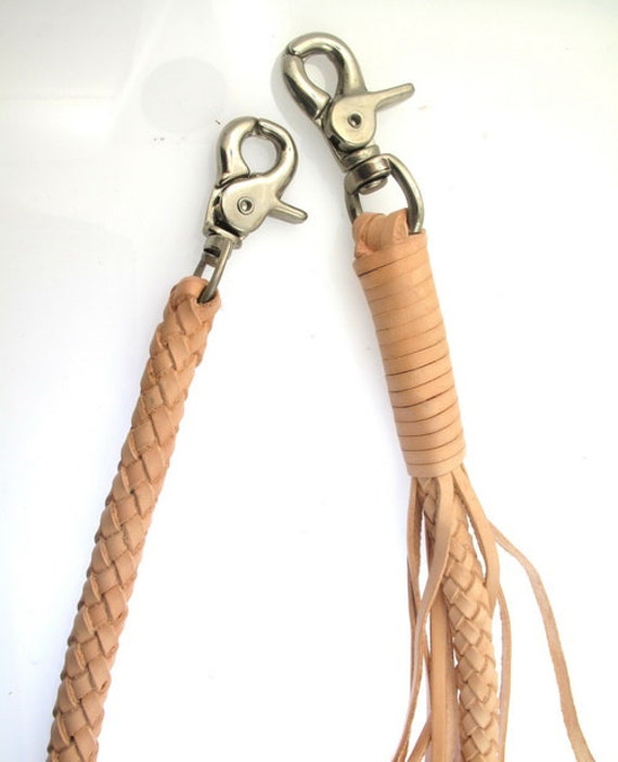 Braided lanyards, loops and knots. Custom Braiding % guaranteed. Always. Fancy Knots Leather Key Chain. Super soft deer leather braided key fob with herringbone or Gaucho knots. Any colors or length up to 10
