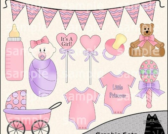 It's a girl clipart – Etsy
