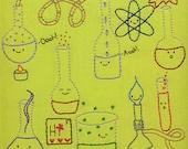 Happy Chemistry embroidery pattern PDF
