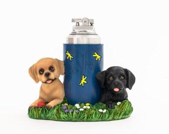 Working Puppy Powered Absurdist Table Lighter