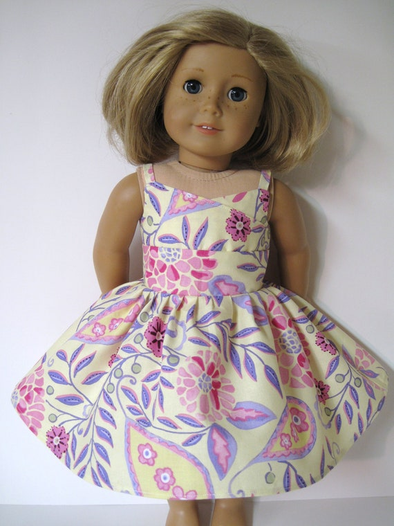 Pretty Wrap Dress for Your American Girl Doll