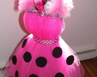 Minnie Inspired Costume/ Dress