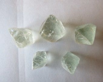 Fluorite Octahedrons
