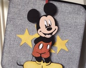 Vintage Mickey Mouse name Banner