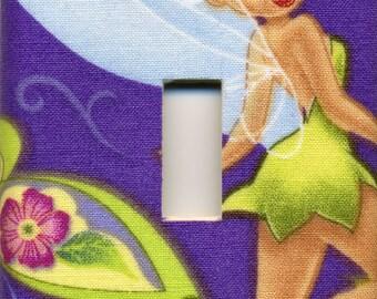 Disney Tinker Bell Single Light Switch Plate