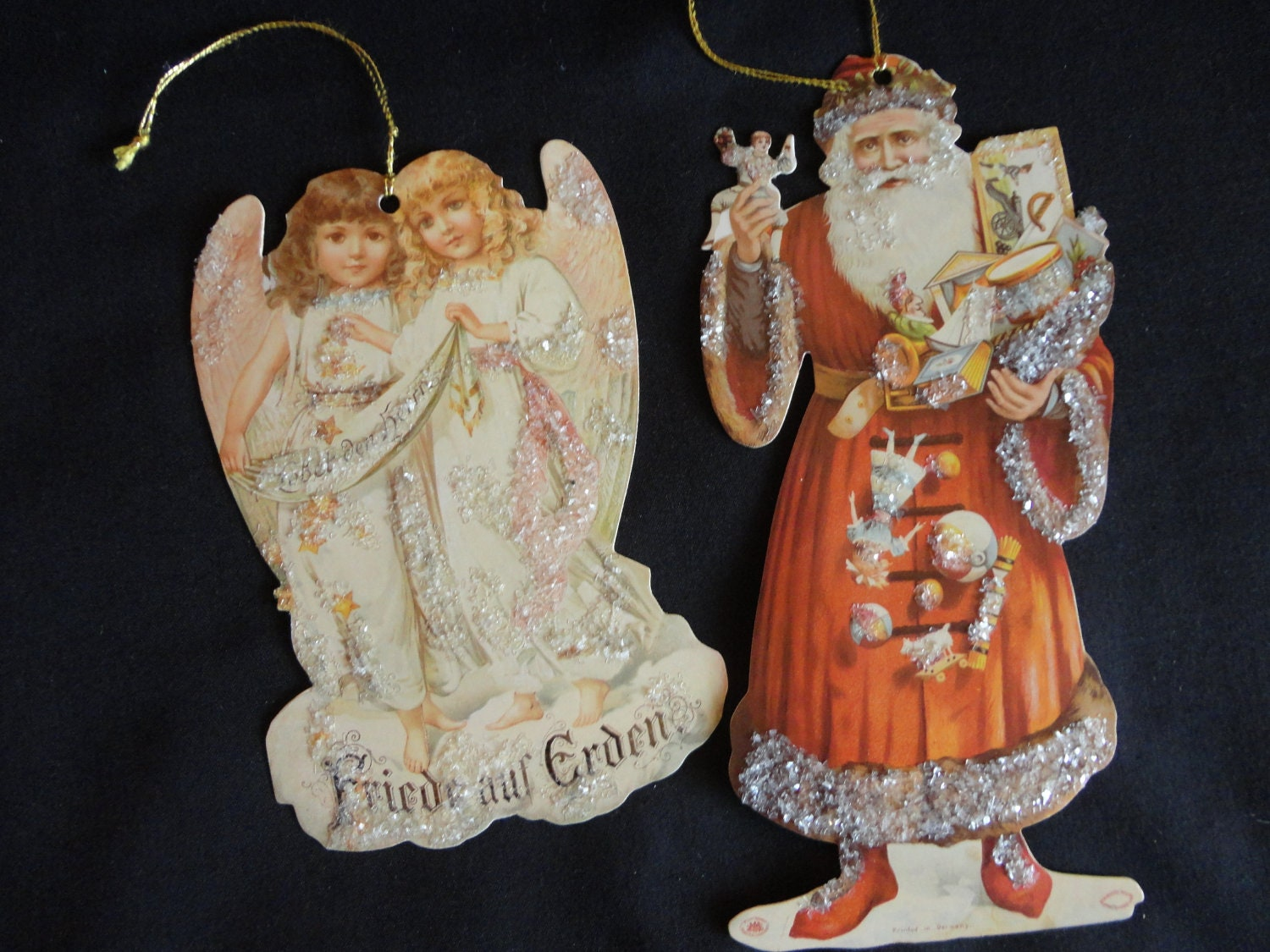 Vintage Christmas Ornaments 1980s By Countrycovecreations
