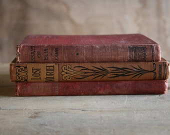 Girls' Antique Book Bundle: (c.1900 - 1912 - 1920)