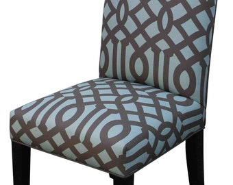 Contemporary Custom Upholstered Dining Chair