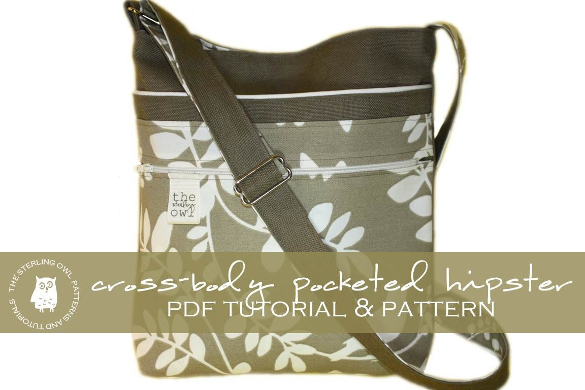 Zipper Crossbody Bag Tutorial 15