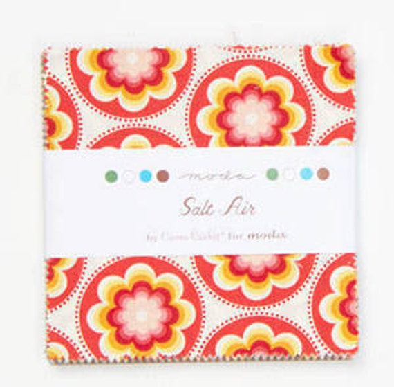 SALT AIR by Moda Charm pack  cotton quilt fabric cosmo crickett Australian Seller
