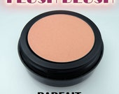PARFAIT BLUSH all day pressed blush makeup in light coral-pink, 6g