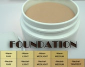 SAMPLE LIGHT and SMOOTH Foundation, in warm, neutral, cool. For a single (1) sample 3g vial