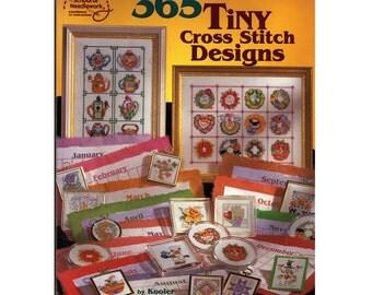 365 Tiny Cross Stitch Designs American School of Needlework