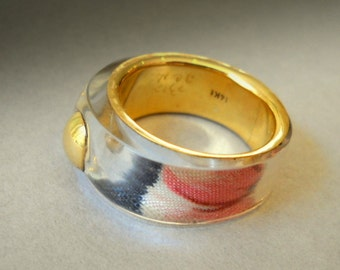 One under GOLD RING