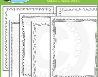 Doodle Borders 1