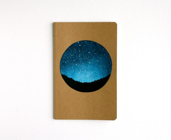 Night Sky Pocket Notebook