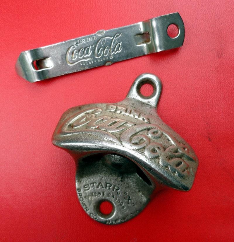 Coca cola combo bottle opener set by bluepawrelicsnresto on etsy - Antique coke bottle opener ...