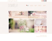 Donatela Wordpress Template, Weebly Template, Blogger Template