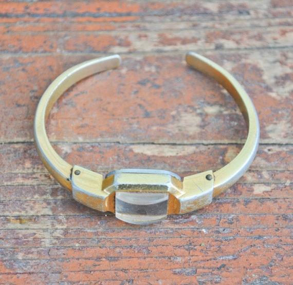 Vintage soviet wrist watch case.