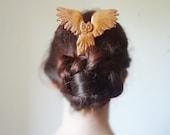 back to school-the flying owl hair fork