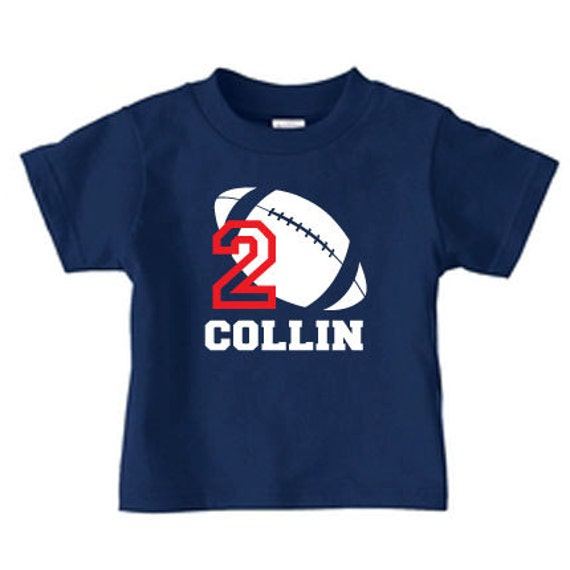 Personalized football t shirt football number t shirt for for Personalized football t shirts