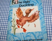 RESERVED the ugly duckling - a classic fairy story book, vintage 1970 children's book