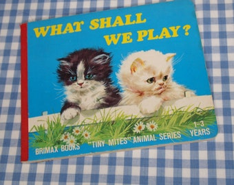 what shall we play, vintage 1979 children's book