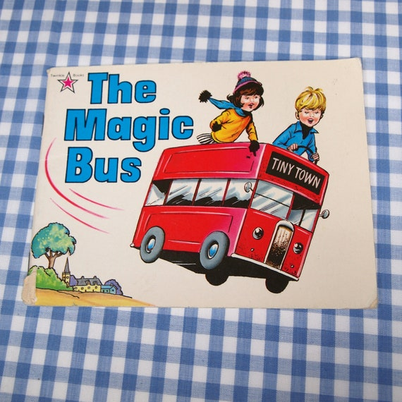 the magic bus, vintage 1980 children's book