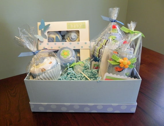 babybinkz gift basket unique baby shower gift or centerpiece cute