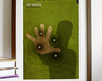Matrix Movie Poster Print
