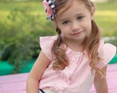 Josephine Blouse and Dress PDF Pattern Tutorial, all Sizes 2-10 years included