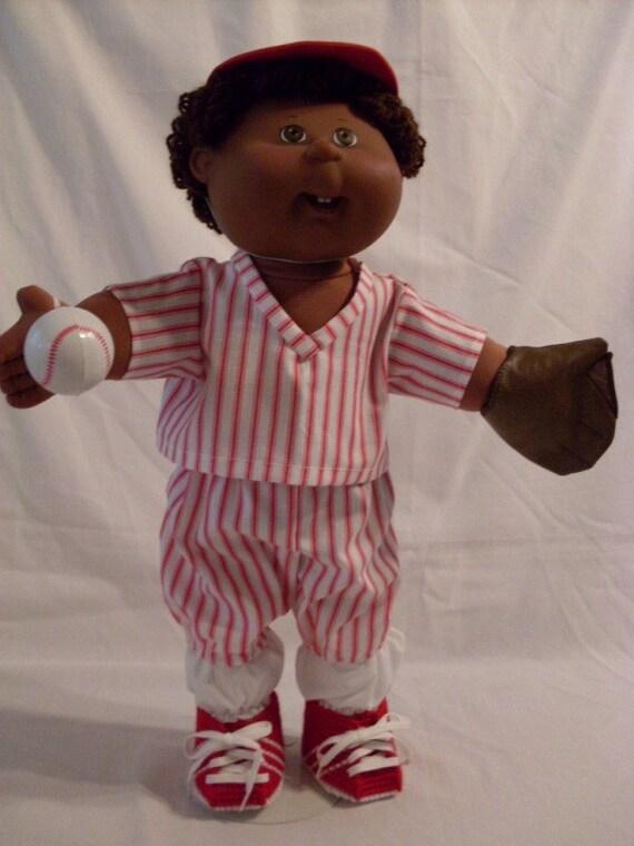 "16"" Cabbage Patch Baseball Uniform Set"