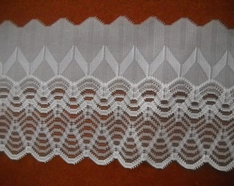 2 yards - vintage   lace trim-- 70mm wide