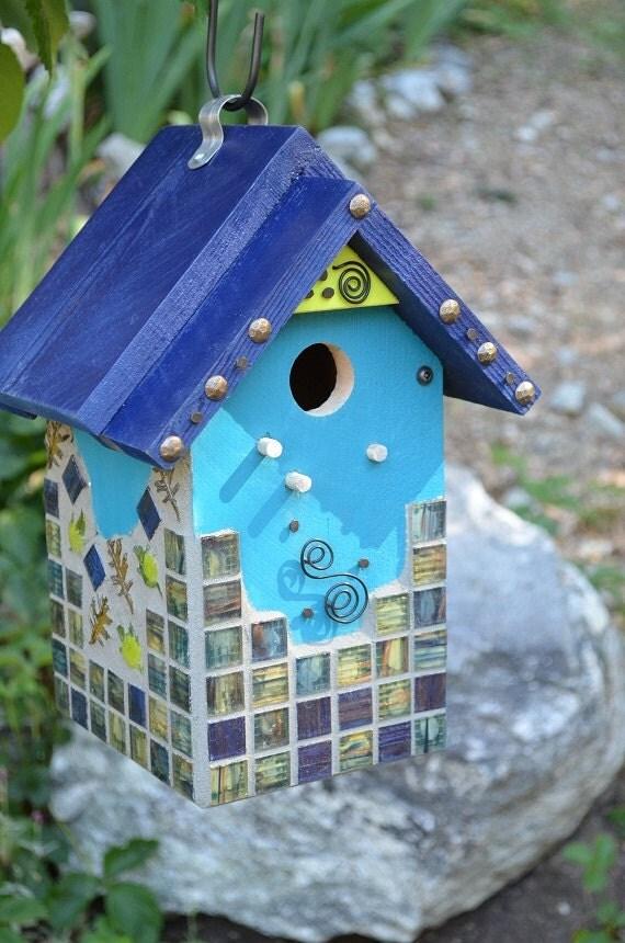 Custom Painted Birdhouses