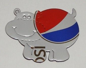 Hippo - White DIet Caffeine Free Pepsi Soda Can Magnet (R)