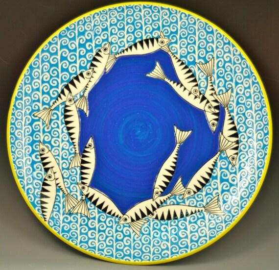 Mackerel Dinner Plate