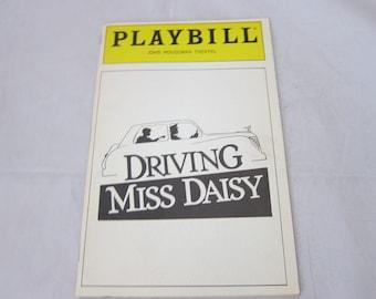 Vintage Playbills, Driving Miss Daisy, John Houseman Theatre, 1988